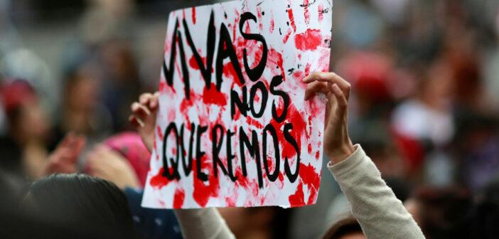 Asesinan en México a mil 899 mujeres en primer semestre del año